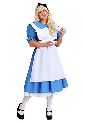 Fun Costumes Womens Adult Deluxe Plus Size Alice Costume 4X Blue - http://coolthings.us