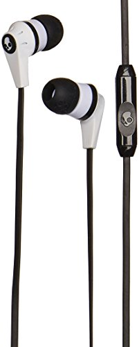 Price comparison product image Skullcandy Ink'd 2 Earbuds with Mic1 White / Black / White,  One Size