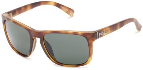 VonZipper Lomax Square Sunglasses,Tortoise Satin,One - Von Womens Sunglasses Zipper
