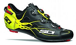 Sidi Shot Vent Carbon Cycling Shoe - Men's B07898W3JK 41|Black/Fluo Yellow