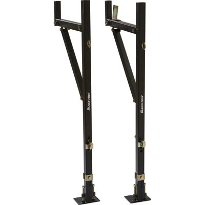 Ultra-Tow Y Side-Mount Utility Truck Rack - 250-Lb. Capacity, Steel 250 Lb Capacity Steel