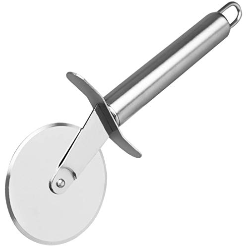 Stainless Steel Pizza Cutter Wheel, Stainless Steel Razor...