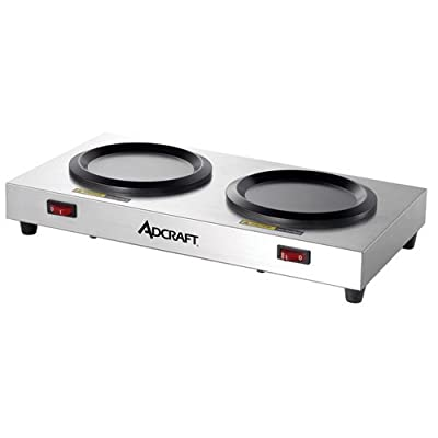 Adcraft Countertop Stainless Steel Warmer Plate, 120 Volts -- 1 each.