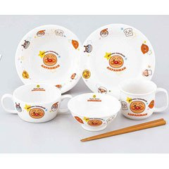 KimuTadashi pottery Children's tableware it should Anpanman Children's tableware set of 6 074 751