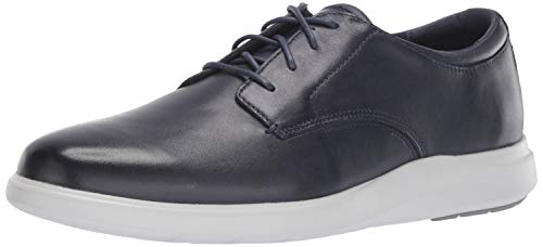 Cole Haan Men's Grand Plus Essex Wedge Oxford, Navy Leather, 11.5 M US