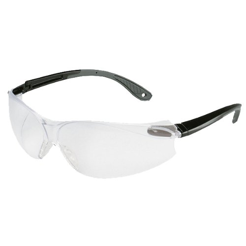 3M Virtua Black and Gray Frame Safety Glasses with by 3M (Image #1)