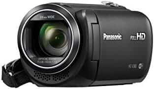 Panasonic HC-V380K Full HD Camcorder with Wi-Fi Multi Scene Twin Camera (Black)