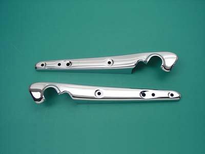 (V-Twin Manufacturing Chrome Fender Strut Set for Sportster 50-0238)