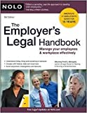 img - for The Employer's Legal Handbook 9th (nineth) edition Text Only book / textbook / text book