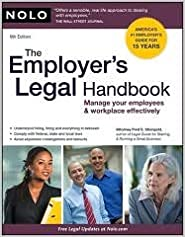 Book The Employer's Legal Handbook 9th (nineth) edition Text Only