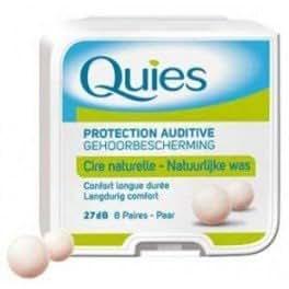 Quies Wax Ear Plugs - 8 pairs by Quies