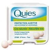 quies wax ear plugs - Quies Wax Ear Plugs - 8 pairs by Quies