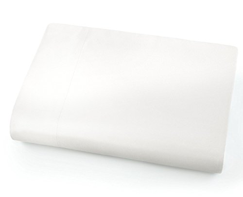 - Full Flat Sheet Only - Soft & Comfy 100% Cotton- By Crescent Bedding (Full , White)