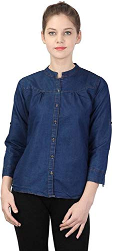 Yasmin Creations Blue,Bundy Shirt