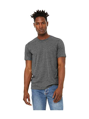 Bella + Canvas Unisex Sueded T-Shirt M DEEP HEATHER