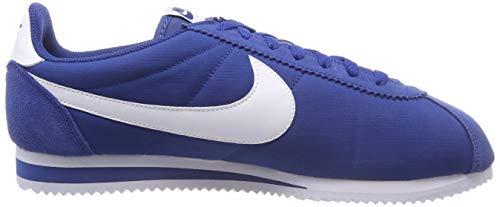 gymnase Nike Cortez En De Blanc 001 Bleu Herren Chaussures Sport Mehrfarbig Nylon Classique qwq1nzUxH