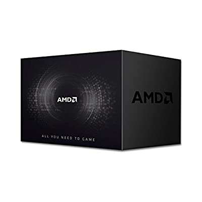 AMD Ryzen 5 1600 Processor with Wraith Spire Cooler (YD1600BBAEBOX) from Amd