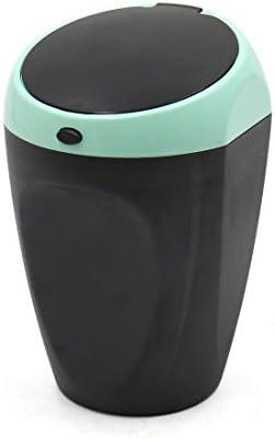 uxcell 灰皿 ポータブル ユニバーサル 車両 カー シガレット 灰 カップ ホルダー グリーン ブラック