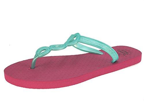 Beppi señoras de las chancletas de zapatillas zapatillas zapatillas de verano turquesa