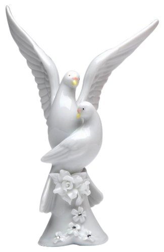 - Appletree Design The Perfect Wedding Rose Dove Figurine, 5-1/4-Inch Tall