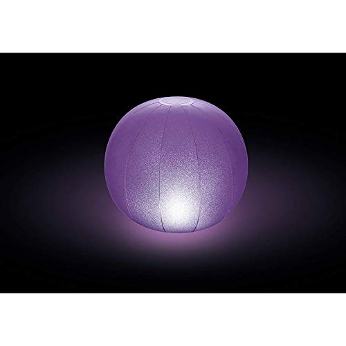 Led Beach Ball - Intex Floating LED Pool Ball 2