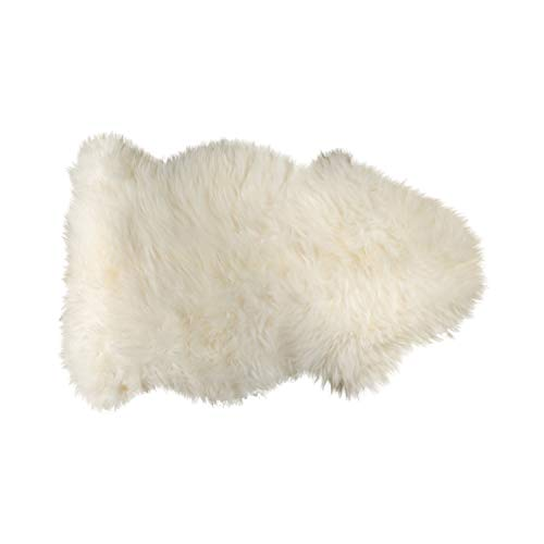 Natural 100% New Zealand Sheepskin Single Aprox 2'X3' Natural