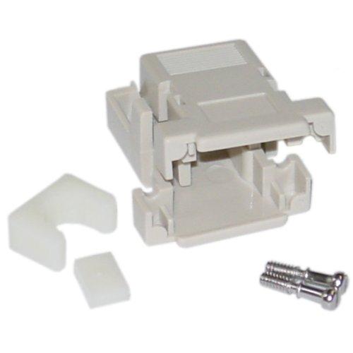 DB9 / HD15 (Serial/VGA) Snap on Plastic Hood