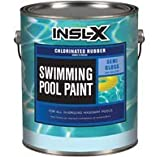 COMPLEMENTARY COATINGS CR2610092-01 INSL-X White Chlorinated Rubber Swimming Pool Paint, 1 gallon, White
