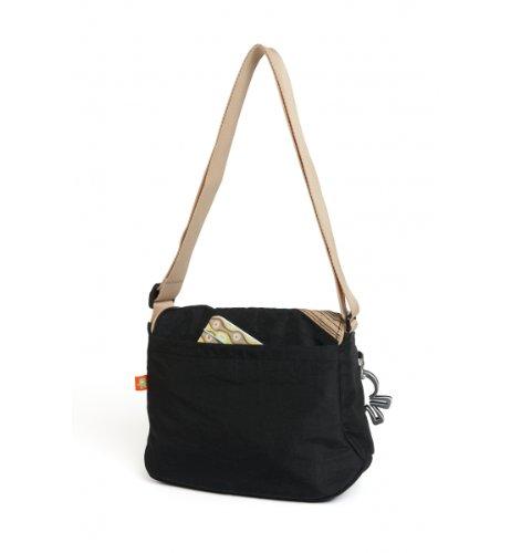 Okiedog Genie - Bolsa para pañales negro negro negro