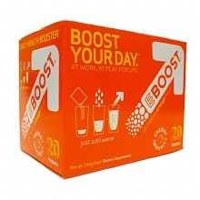 EBOOST Daily Health Booster Effervescent Powder Packets Orange 0.25 oz. x 20 pack 3 pack by EBOOST
