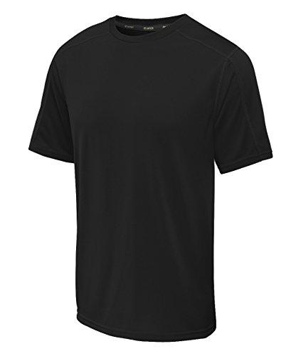 Champion Big and Tall Vapor Crew Shirt (Black XL-T)