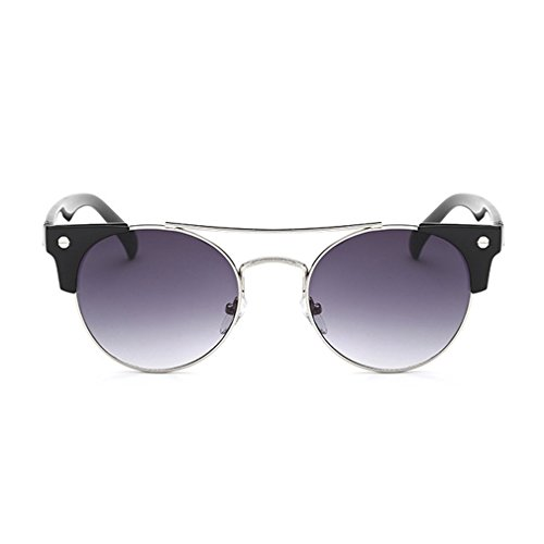 G&T Womens Retro Trendy Personality Round Cute Party - Choose To Shape Sunglasses How Face