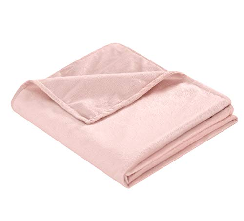 Cheap Well Being Joshua Children s 30x42 Blue Pink and Grey Warming and Cooling Microfiber for Boys and Girls Minky Weighted Blanket Cover Black Friday & Cyber Monday 2019
