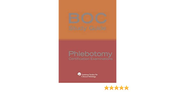 Boc study guide phlebotomy certification examinations boc study guide phlebotomy certification examinations 9780891896128 medicine health science books amazon fandeluxe Gallery