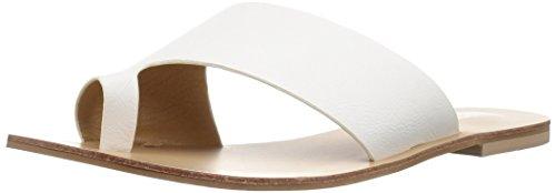- Chinese Laundry Women's Glory Flat Sandal, White Smooth, 8 M US