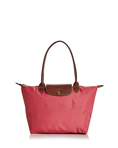 Longchamp 'Large Le Pliage' Tote Shoulder Bag, Flower