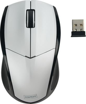 staples-wireless-mouse-silver