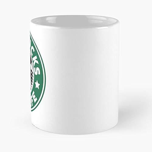 Funny Halloween Imgur (Star-bucks Covfefe Classic Mug - The Funny Coffee Mugs For Halloween, Holiday, Christmas Party Decoration 11 Ounce)