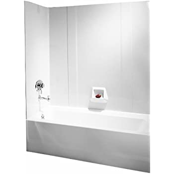 ASB 39240 Vantage Tub Wall, White, 5-Piece - Bathtubs - Amazon.com