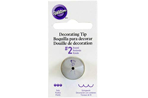 Wilton Decorating Tip, No.2 Round