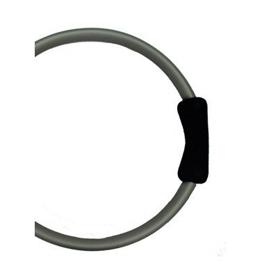 Yoga Direct Pilates Toning Ring With Black Cushioned Grips by YogaDirect