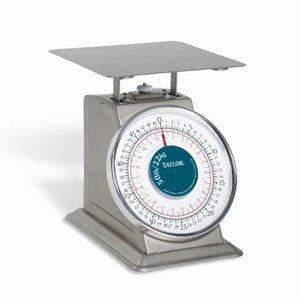 - Taylor Precision THD50 Heavy Duty 50 Lb. x 2 Oz. Mechanical Scale