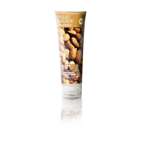 Desert Essence Body Wash Almond, 8 Fluid Ounce