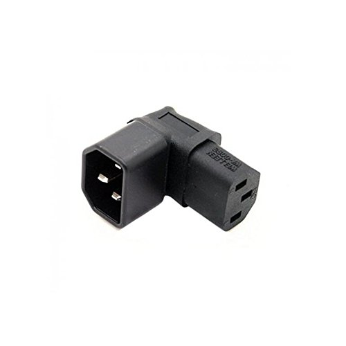 LINGLING ONE IEC C14 TO C13 POWER ADAPTER 10A PDU PLUG/SOCKET 90 DEGREE Wall-mounted LCD TV