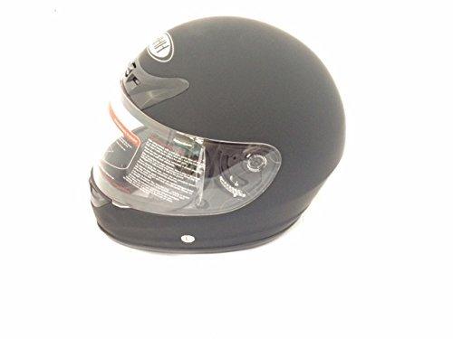 Hard Head Helmets Full Face Helmet DOT Approved for Street Bike, Motorcycle, Chopper, UTV, ATV, Dirtbike & Go-kart (Large, Matte Black) (Full Face Helmet Dot)