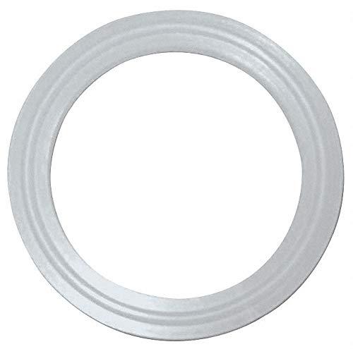 Coupler Thermocouple Gasket, 1.874' Inside Dia, 2.520' Outside Dia, Platinum Silicone, 2' Tube Siz