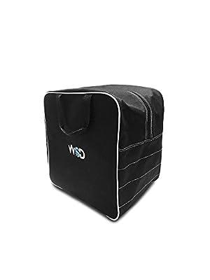 New WSD Logo Single Ski or Snowboard Boot Bag, Boot & Gear Bag WSD square New (Black)