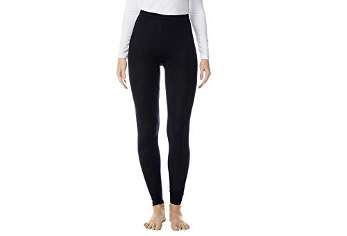 32 Degrees Weatherproof Women's Heat Base Layer Bottom Black (XX-Large)