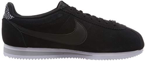 black white 002 Prem Scarpe Multicolore Fitness Da Nike Cortez Donna black Wmns Classic Grey wolf CwOUzRq