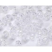 Faceted Beads, 8mm, Crystal, 480pc Pkg (Faceted Crystal Beads compare prices)